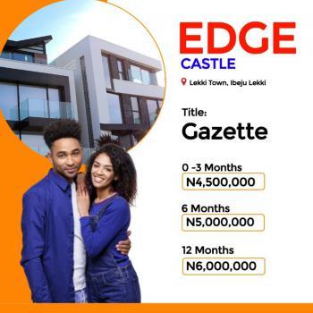 Commercial Plots, Lekki Town, Edge Castle Estate, Ibeju Lekki, Lagos, Residential Land for Sale