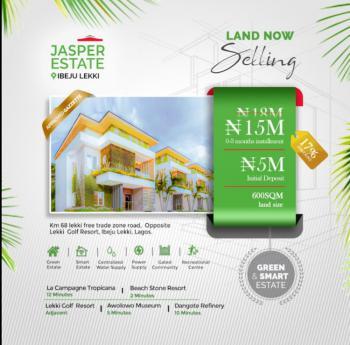 600 Square Metres Landed Property in an Estate, Itamarun, Ibeju Lekki, Lagos, Residential Land for Sale