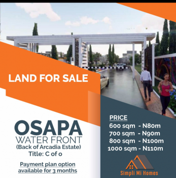 Land with C of O, Osapa, Lekki, Lagos, Residential Land for Sale