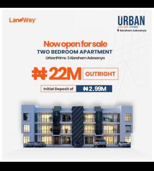 Lavadia Magnificent 2 Bedroom Apartment, Abraham Adesanya, Ajah, Lagos, House for Sale