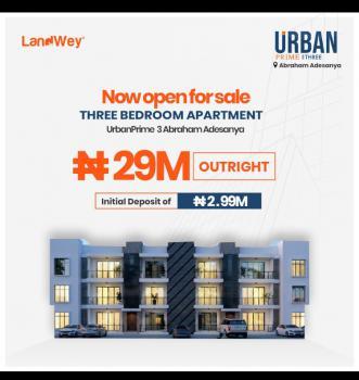 Lavadia Magnificent 3 Bedroom Apartment, Abraham Adesanya, Ajah, Lagos, Flat for Sale
