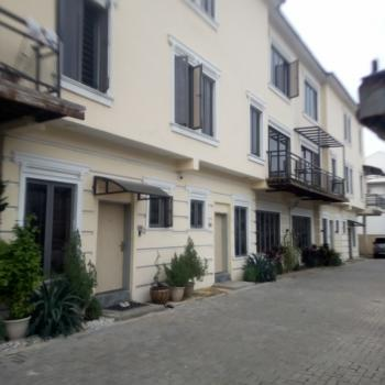4 Bedroom Terrace House with a Room Bq, Maitama District, Abuja, Terraced Duplex for Rent