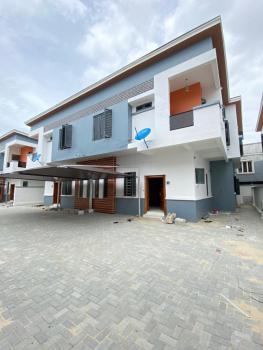 Luxury 4 Bedroom Finished Duplex with a Room Bq at Chevron, Berra Estate Chevron Lagos Nigeria., Lekki, Lagos, Semi-detached Duplex for Sale