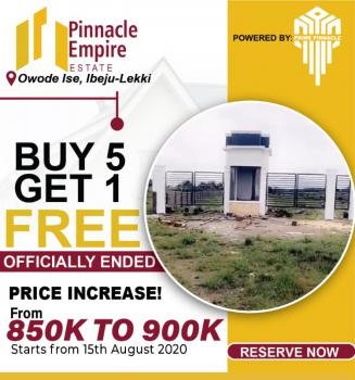 Most Affordable and in a Serene Environment, Pinnacle Empire Estate; 2 Minutes Drive From La Campaign Tropicana Beach Resort, Owode Ise, Ibeju Lekki, Lagos, Residential Land for Sale