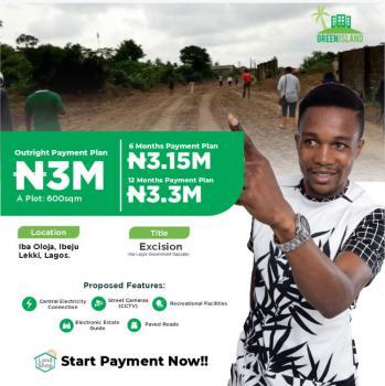 Serviced Plots, Iba Oloja, Iberekodo, Ibeju Lekki, Lagos, Mixed-use Land for Sale