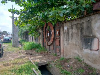 a Large Redevelopable Corner Piece Land with 6 Nos. Bungalows, Ire-akari Estate, Ire Akari, Isolo, Lagos, Mixed-use Land for Sale