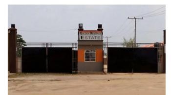 Strategically Located Plot of Land, Golden Heritage Estate, Mowe Ofada, Ogun, Residential Land for Sale