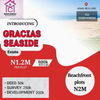 Beach View Estate Bothered By an Express Road, a Diamond in The Rough, Apakin, Ibeju Lekki, Lagos, Mixed-use Land for Sale