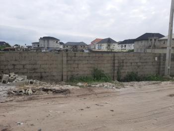 Fenced 1 Plot of Land, Thera Annex Estate Sangotedo Before Shop Rite, Sangotedo, Ajah, Lagos, Commercial Land for Sale