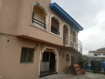 a Single Room + Bath + Shared Kitchen, in a 2 Bedrooms Flat, Ola Adigun Street, Off Alpha Beach Road, Before Chevron, Igbo Efon, Lekki, Lagos, Self Contained (single Rooms) for Rent