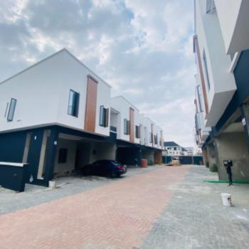 Fully Serviced 4 Bedroom Terrace Duplexes with Topnotch Facilities, Chevron Axis, Lafiaji, Lekki, Lagos, Terraced Duplex for Sale