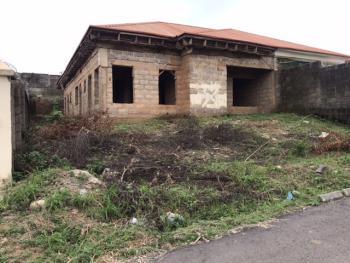Carcass 3 Bedrooms Semi Detached Bungalow, Sunnyvale Estate, Lokogoma District, Abuja, Semi-detached Bungalow for Sale