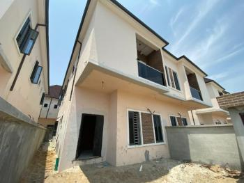 Brand New Serviced 4-bedroom Semi-detached House with Bq, Lafiaji, Lekki, Lagos, Semi-detached Duplex for Sale