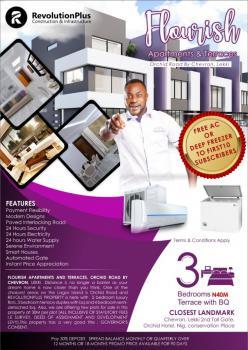 Flourish Terraces Estate 3 Bedroom Off Plan, Orchid Road, Chevron, Lafiaji, Lekki, Lagos, Terraced Duplex for Sale