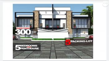 Deluxe 5 Bedroom Duplex, Karimo Within Ochacho Luz Estate, Karmo, Abuja, Semi-detached Duplex for Sale