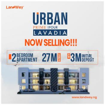 a New Contemporary 2 Bedrooms Apartment, Lavadia (urban Prime 4), Abraham Adesanya, Ajah, Lagos, Flat for Sale