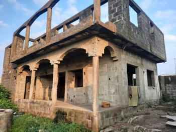 an Uncompleted Storey Building of Block of 2 Units of 2 Bedrooms Flat, Along Tinunbu Road, Bogije, Ibeju Lekki, Lagos, Block of Flats for Sale
