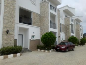 Serviced 4 Bedroom Terrace Duplex with 1 Room Bq., Off Patrick Yakowa, Katampe Extension, Katampe, Abuja, Terraced Duplex for Rent