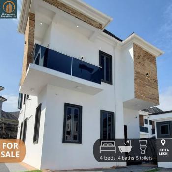 4 Bedroom Semi Detached House and a Room Bq, Ikota, Lekki, Lagos, Semi-detached Duplex for Sale