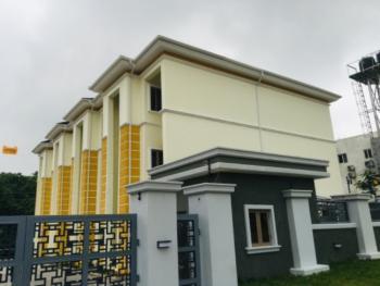 4 Bedroom Terrace Duplex with a Room Bq, Guzape District, Abuja, Terraced Duplex for Rent