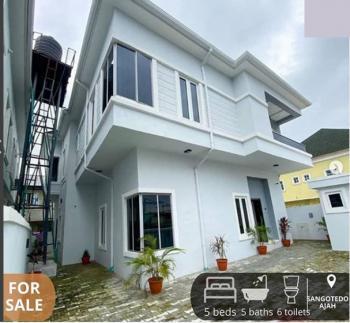 5 Bedroom Fully Detached Duplex with Bq, Sangotedo, Ajah, Lagos, Detached Duplex for Sale