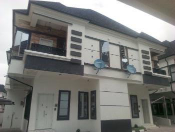 New 4 Bedrooms Semi Detached Duplexes with Bq, Oral Estate Phase 2, Orchid Hotel Road, By Chevron Toll Gate, Lekki Expressway, Lekki, Lagos, Semi-detached Duplex for Sale