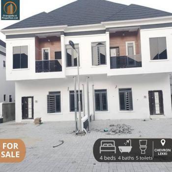 Newly Built 4 Bedroom Semi Detached Duplex with Bq, Chevron, Lekki Phase 2, Lekki, Lagos, Semi-detached Duplex for Sale
