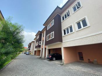 a Good Class Serviced 3 Bedroom Terraced Duplex with a Room Bq, Ikate, Lekki, Lagos, Terraced Duplex for Rent