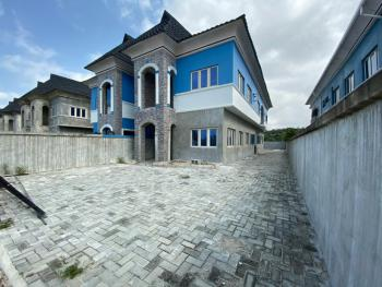 Spacious 5 Bedrooms Semi-detached Carcass House with Bq, Off Ogombo Road, Abraham Adesanya, Ogombo, Ajah, Lagos, Detached Duplex for Sale