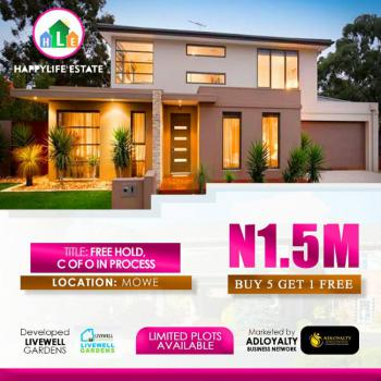 Land, Happy Life Estate, Opposite Christopher University, Beside Rccg Youth Church, Mowe Ofada, Ogun, Residential Land for Sale