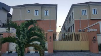 Brand New 3 Bedroom Shared Apartment with Ac, By Chisco, Ikate, Lekki, Lagos, Flat for Rent