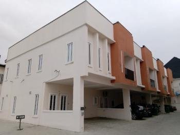 4 Bedroom Terrace Duplex with a Room Boys Quarters, Off Orchid Hotel Road By Second Tollgate, Lafiaji, Lekki, Lagos, Terraced Duplex for Rent