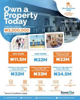 Luxury 4 Bedroom Fully Detached Duplex + Bq, Atican Beachview Estate, Lekki Scheme Ii, Ajah, Lagos, Detached Duplex for Sale