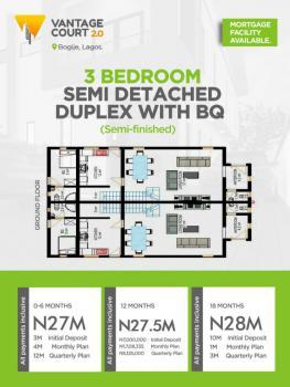 3 Bedroom Duplex, Vantage Court 2, Bogije, Ibeju Lekki, Lagos, House for Sale