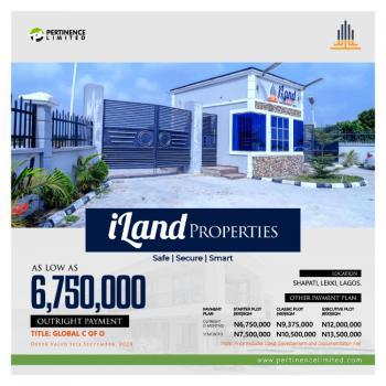 Land, Iland Properties Estate, Inside, Beachwood Estate, Ibeju Lekki, Lagos, Land for Sale