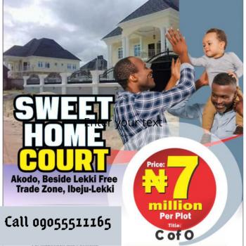 Land, Beside Lekki Free Trade Zone, Sweet Home Court, Ibeju Lekki, Lagos, Residential Land for Sale