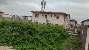 Massive Land with 2 Nos of 4 Bedroom Flat, Ramat, Alhaja Bus Stop, Ogudu, Lagos, Block of Flats for Sale