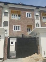 Brand New Tastefully Finished 4 Bedroom Semi-detached Terraced Duplex With A Servant Room, Osapa, Lekki, Lagos, 4 Bedroom, 5 Toilets, 4 Baths House For Sale