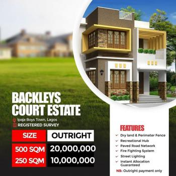 Land, Ipaja, Backlays Court, Boys Town, Ipaja, Lagos, Residential Land for Sale