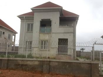 4 Bedroom Detached Duplex with a Room Bq(completed Less Painting), Stream Wood Garden Estate Airport Road, Galadimawa, Abuja, Detached Duplex for Sale