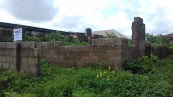 a Well Fenced Uncompleted 6 Self Contained on Lintel Level, Alakia Airport Road, Alakia, Ibadan, Oyo, Detached Bungalow for Sale