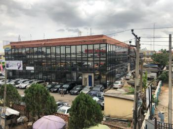 Serviced 355 Sqm Open Plan Ground Floor Front Space, Awolowo Glass House Computer Village., Ikeja, Lagos, Office Space for Rent
