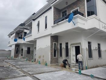 Newly Built 4 Bedroom Semi Detached with Bq in Chevron Axis, Chevron, Lekki Phase 2, Lekki, Lagos, Semi-detached Duplex for Sale