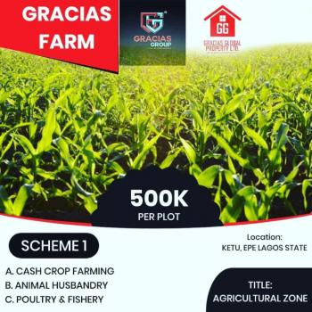 Land, Gracias Farm, Epe, Lagos, Residential Land for Sale