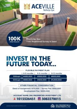 Aceville Estate, Epe, Lagos, Residential Land for Sale