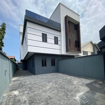 Exquisite 5 Bedroom Fully Detached Duplex with Room Bq, Lekki Phase 1, Lekki, Lagos, Semi-detached Duplex for Sale