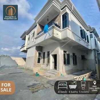 Lovely Newly Built 4 Bedroom Semi- Detached Duplex, 2nd Toll Gate, Lekki Phase 2, Lekki, Lagos, Semi-detached Duplex for Sale