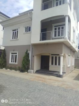 Serviced 4 Bedroom Duplex with Pool & Play Ground., Along Shoprite Road, in a Serviced Estate., Osapa, Lekki, Lagos, Semi-detached Duplex for Rent