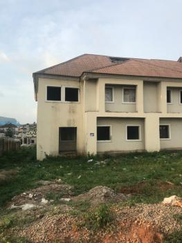 Newly Built 3 Bedroom Duplex with Bq, Naf Valley Estate, Asokoro District, Abuja, Semi-detached Duplex for Sale