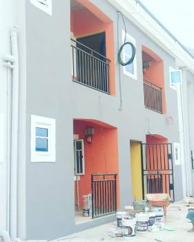 Newly Built 2 Bedroom with Visitors Toilets and Electricity, Green Land Estate Off Rumuodara By Eliohani Road, Port Harcourt, Rivers, Flat for Rent